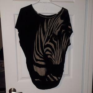 Tops - Zebra Shirt